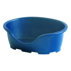 Pat pentru câini PERLA 3, albastru - 66 x 46 x 25 cm