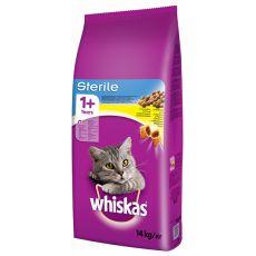 WHISKAS Sterile - pentru pisici sterilizate 14 kg