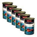 Conservă GranCarno Original Adult carne de vită și somon + spanac - 6x400 g