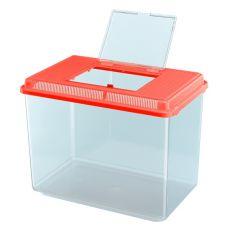 Cutie de plastic portabilă Ferplast GEO MAXI - roşie, 21L