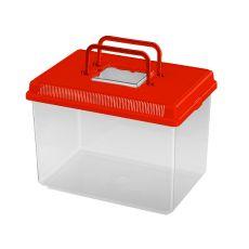 Rezervor portabil din plastic Ferplast GEO LARGE - roșu, 6L
