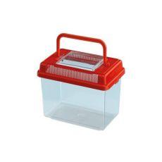 Rezervor portabil din plastic GEO MEDIUM - roșu, 2,5L