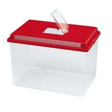 Rezervor portabil din plastic Ferplast GEO EXTRA LARGE - roșu, 11L