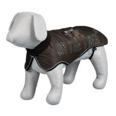 Hăinuță pentru câini, cu elemente reflectorizante – maro, L / 68-83 cm