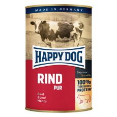 Happy Dog Pur - Rind 400g / beef