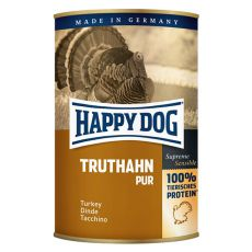 Happy Dog Pur - Truthahn 400g / turkey