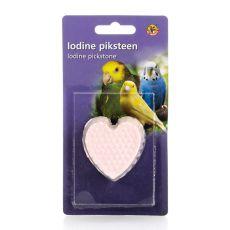 Mineral în formă de inimă cu iod pentru păsări - 50g