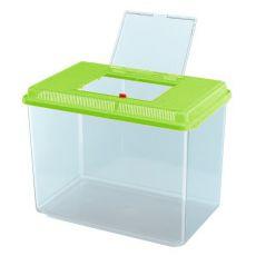 Acvariu portabil de plastic Ferplast GEO MAXI - verde, 21L