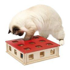 Jucărie pentru pisici MAGIC BOX, 27 x 27 x 8,5 cm