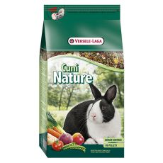 Cuni Nature 2,5kg - hrană pentru iepuri pitici
