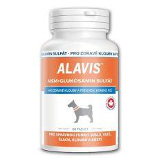 ALAVIS MSM Sulfat de glucozamina - articulații sănătoase și bunăstare fizică, 60tbl.