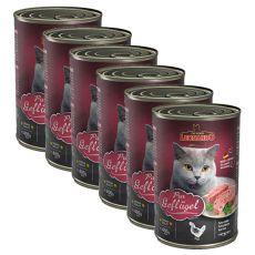Leonardo conservă pentru pisici - Pui 6 x 400 g