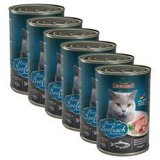 Leonardo, conservă pentru pisici - Pește 6 x 400 g