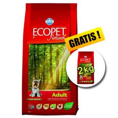 Farmina MO P ECOPET N dog ADULT MINI 12 kg + 2 kg GRATUIT
