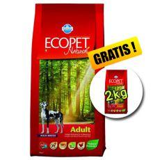 Farmina MO P ECOPET N dog ADULT MAXI 12 kg + 2 kg GRATUIT