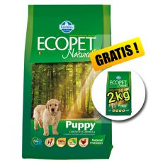 Farmina MO P ECOPET N dog PUPPY MEDIUM 12 kg + 2 kg GRATUIT.