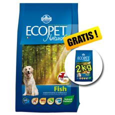 Farmina MO P ECOPET N dog FISH MINI 12 kg + 2 kg GRATUIT