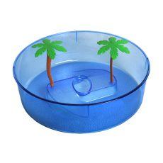 Terariu din plastic pentru țestoase- albastru 24,5cm