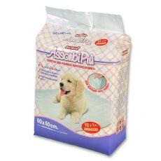Tampoane igienice pentru câini  - 60 x 60 cm, 10+1 GRATUIT