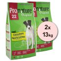 Pronature 22 Adult Lamb  - 2 x 13 kg