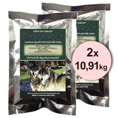 TimberWolf BLACK FOREST Venison and Lamb Originals Formula - 2 x 10,91 kg