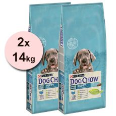 PURINA DOG CHOW PUPPY Large Breed TURKEY 2 x 14 kg