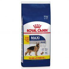ROYAL CANIN MAXI ADULT 15 + 3 kg