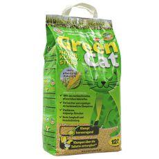 Așternut pentru pisici Green Cat 12L