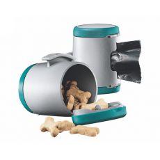 Flexi Vario Multi Box - Dispenser pentru bobițe și pungi igienice - culoare turcoaz