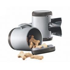 Flexi Vario Multi Box - Dispenser pentru bobițe și pungi igienice - culoare gri închis
