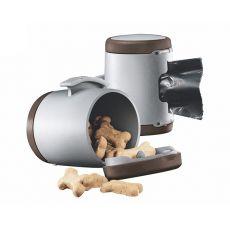 Flexi Vario Multi Box - dispenser pentru bobițe și pungi igienice, culoare maro