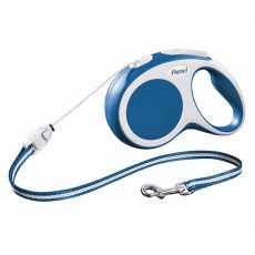 Lesă Flexi Vario S pentru câini de până la 12kg, șnur 8m  - albastră