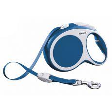 Lesă Flexi Vario L, pentru câini de până la 50kg, lungime coardă 8m - culoare albastră