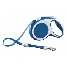 Lesă Flexi Vario M, pentru câini de până la 25kg, lungime coardă 5m - culoare albastră