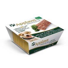 Applaws Paté Dog - Pate cu carne de Vită și Legume pentru câini, 150g