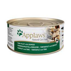 Applaws Cat - conservă pentru pisici cu ton și alge maritime 70g