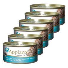 Applaws Kitten - conservă pentru pisoi cu ton, 6 x 70g
