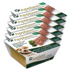 Applaws Paté Dog - Beef and Vegetables pentru câini, 6 x 150g