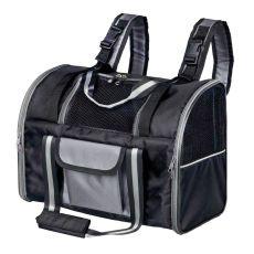 Rucsac pentru transportarea câinilor sau a pisicilor, Marvin - culoare neagră, 42x21x29 cm
