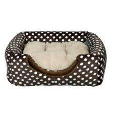 Culcuș pentru câini sau pentru pisici Mina - maro, 35 x 35 x 35 cm