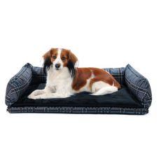 Pat pentru câini, pentru mașină - gri, 80 x 60 cm