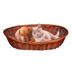 Culcuș din nuiele împletite pentru câini sau pisici - 50 cm