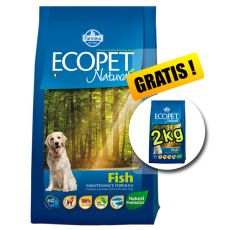 Farmina MO P ECOPET N dog FISH MEDIUM 12 kg + 2 kg GRATUIT