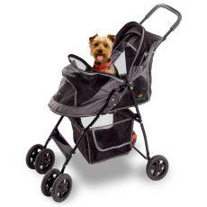 Cărucior pentru transport câini FERPLAST - 80 x 42 x 95 cm