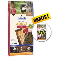 Bosch ADULT Lamb & Rice 15 kg + 3 kg GRATUIT