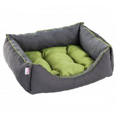 Culcuș pentru câini și pisici SIESTA - culoare gri, 70 x 60 cm