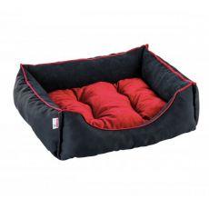 Culcuș pentru câini și pisici SIESTA - neagră, 70 x 60 cm
