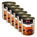 GranCarno Fleisch Adult conservă carne de vită + curcan- 6 x 800g