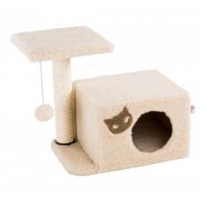 Dispozitiv de scărpinat pentru pisici MIAU 3 - 47 x 31 x 45 cm