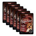 ANIMONDA vom Feinsten Kleiner Racker -  inimă de vițel + ciuperci, 6 x 85 g